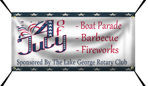 Custom 4th of July Banner Example | Wholesalebannerz.com