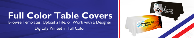 Full Color Table Covers - Wholesalebannerz.com
