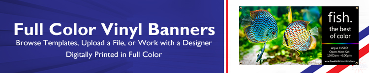 Full Color Banners | Wholesalebannerz.com