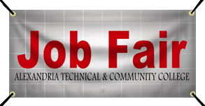 Custom Job Fair Banner Example | Wholesalebannerz.com