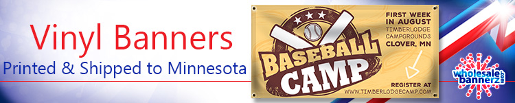 Vinyl Banners for Minnesota | Wholesalebannerz.com